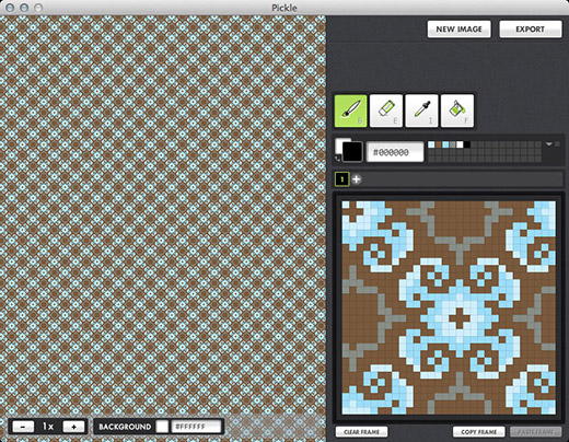 Seamless Tile Editing in Pickle